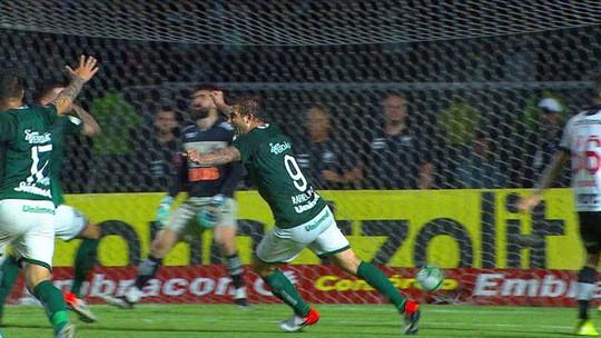 """Ney Franco reclama de um gol anulado do Goiás e dispara contra a arbitragem: """"Saímos frustrados"""""""