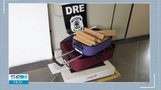 Homem é preso em Japaratuba com cerca de 50 kg de maconha dentro de ônibus com destino a Alagoas