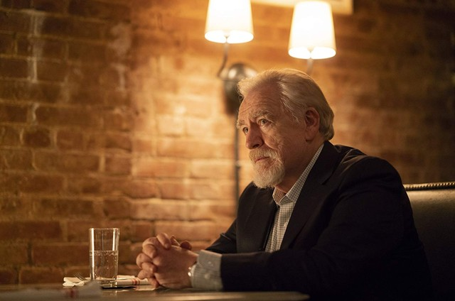 Brian Cox em cena de 'Succession' (Foto: Reprodução)