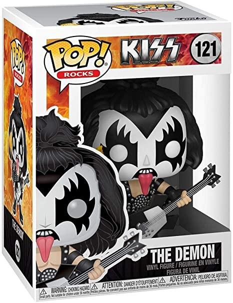 The Demon, do Kiss, conta com a clássica maquiagem utilizada pelo vocalista da banda (Foto: Divulgação/Amazon)