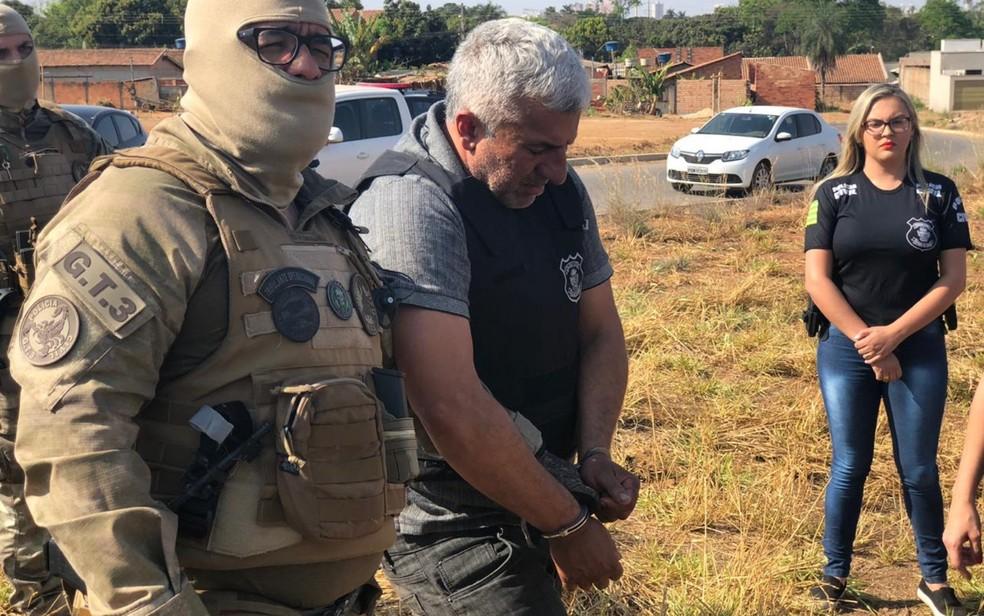 Wellington no momento em que foi preso: DNA confirmou autoria de 22 estupros — Foto: Polícia Civil/Divulgação