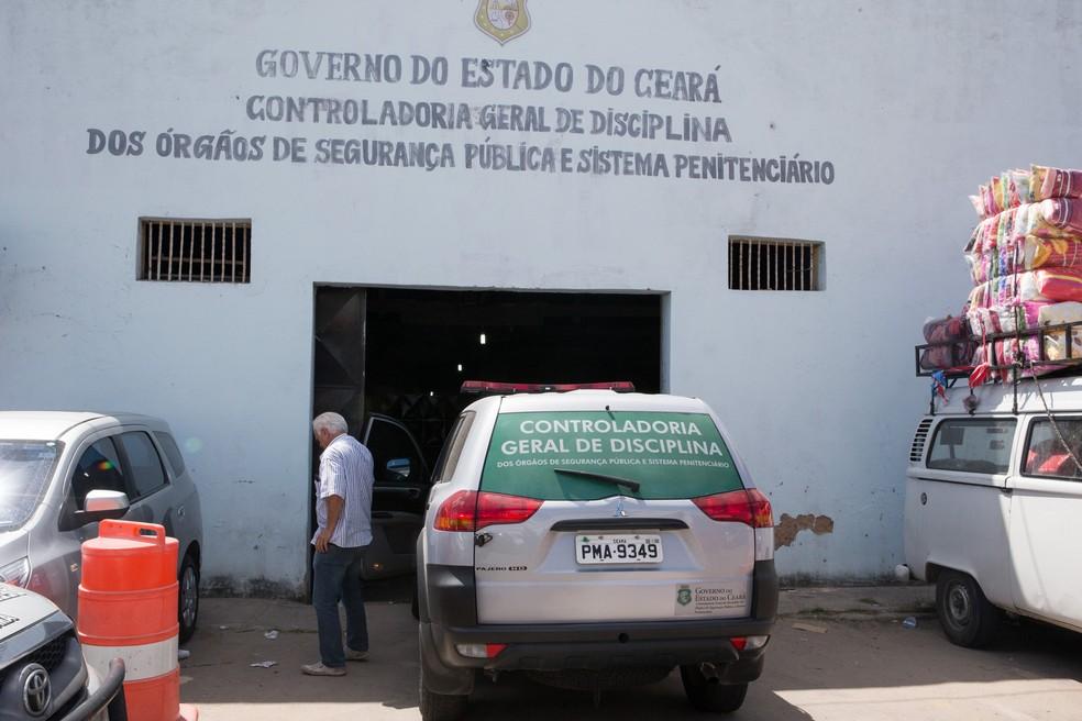 Controladoria Geral de Disciplina apura crimes cometidos por agentes de segurança no Ceará — Foto: Cid Barbosa/SVM