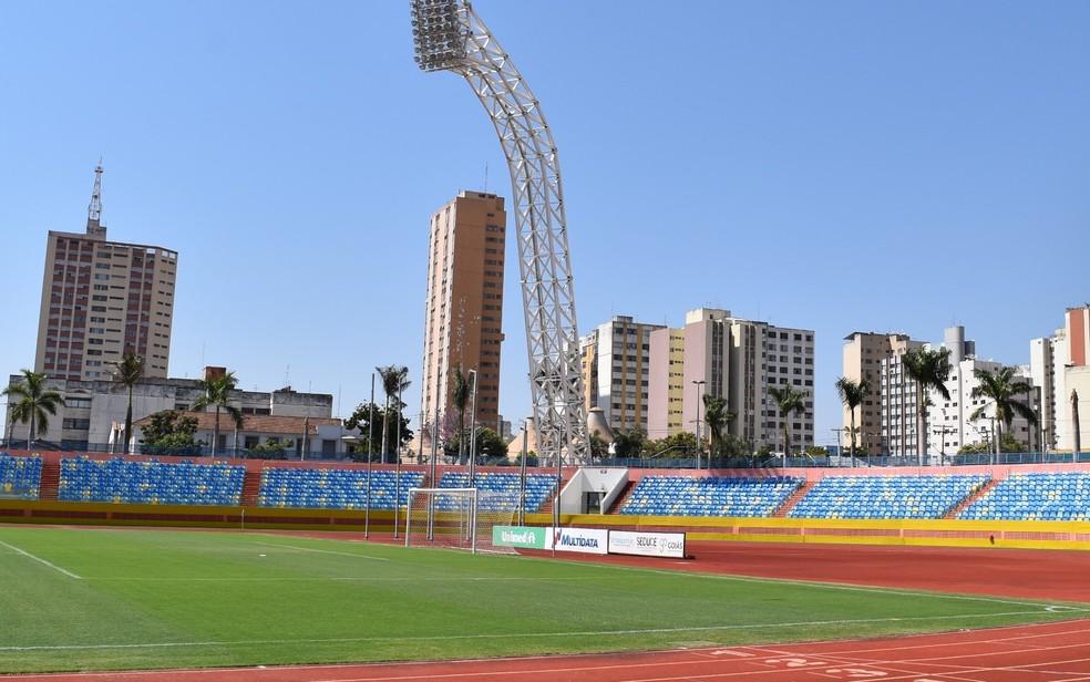 Estádio Olímpico, Goiânia, Goiás (Foto: Vitor Santana/ G1)