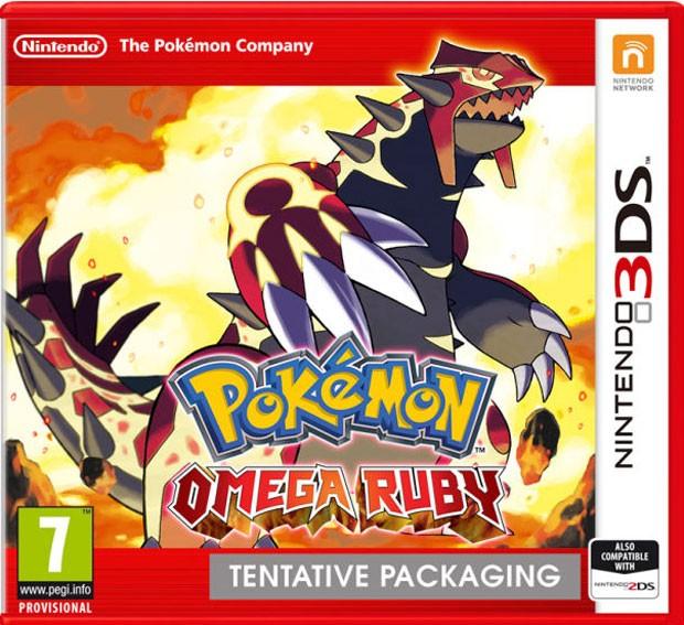 Caixa de 'Pokémon Omega Ruby', remake de game de 2003 (Foto: Divulgação/Nintendo)