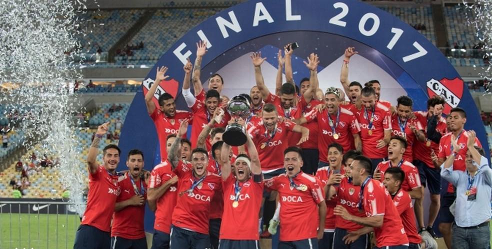 Independiente é o único campeão da Copa Sul-Americana que ainda disputa a competição — Foto: Divulgação Independiente