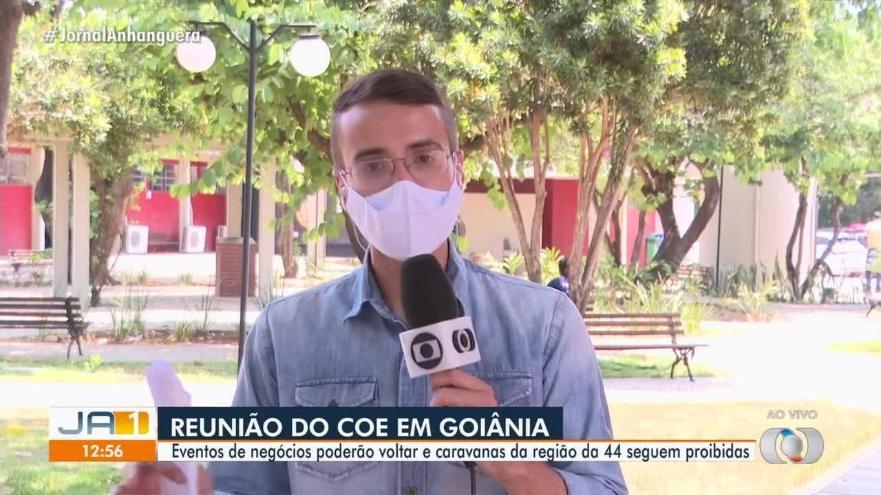 Reunião do COE decide que eventos direcionados a negócios podem ser retomados em Goiás