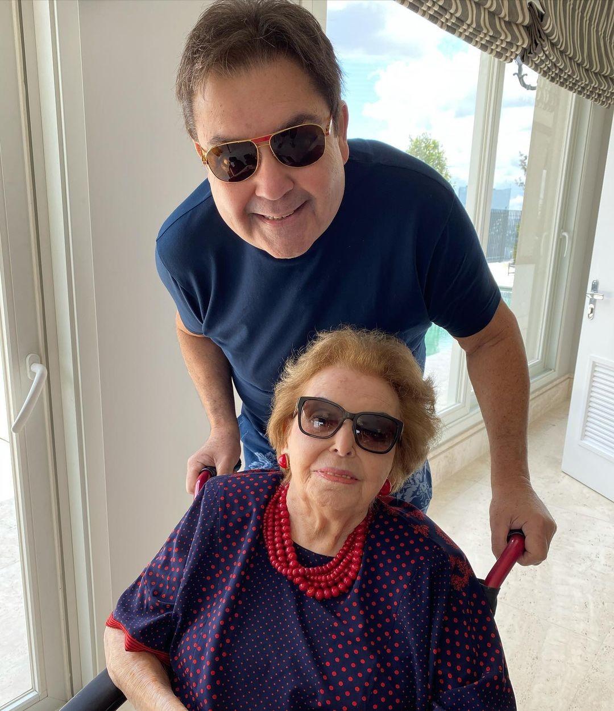 Cordélia Silva, mãe de Faustão, morre aos 95 anos