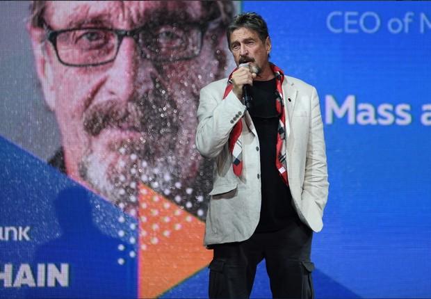 John McAfee (Foto: Divulgação)