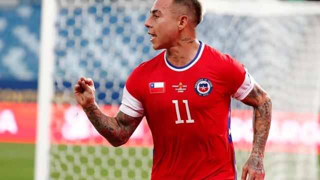 Eduardo Vargas, do Chile