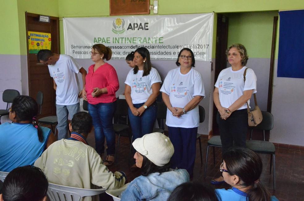 Semana Nacional da Pessoa com Deficiência segue até domingo (27), em Rio Branco (Foto: Divulgação/Apae-AC)