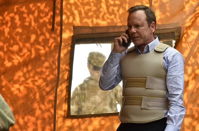 Kiefer Sutherland em 'Designated survivor' (Foto: Reprodução)