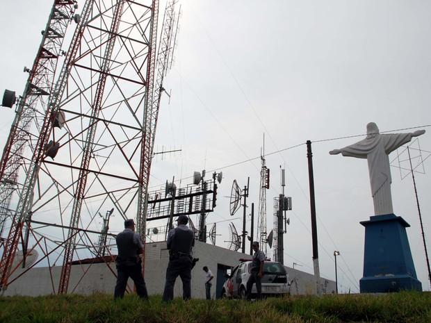 Após furto, comunicação na região tem sido realizada por um sistema reserva (Foto: Ricardo Missão)