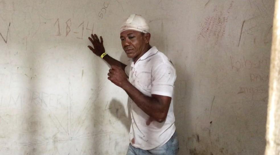 Francisco Antônio Timóteo Santiago, mais conhecido como 'Bibilo' (Foto: Kleber Teixeira/Inter TV Cabugi)