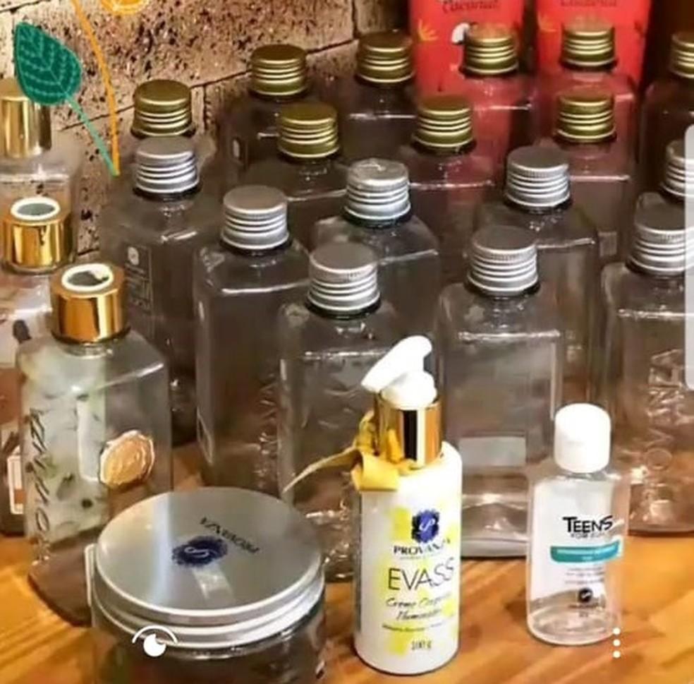 Embalagens são prensadas em MT e encaminhadas para indústria em outros estados — Foto: Provanza/Divulgação