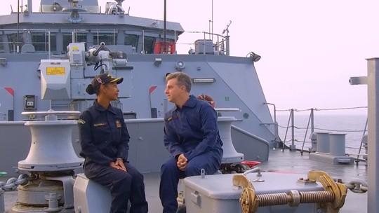 Caldeirão embarca para a Ilha da Trindade e conhece a primeira comandante mulher nesta missão