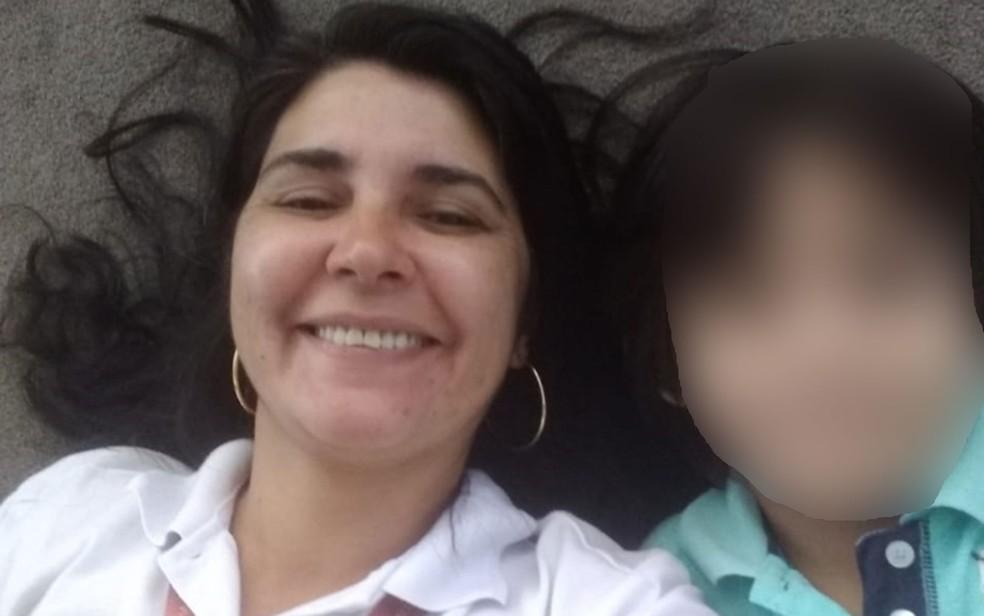 Rosilaine Santiago luta na Justiça para permanecer com a guarda do filho — Foto: Arquivo pessoal