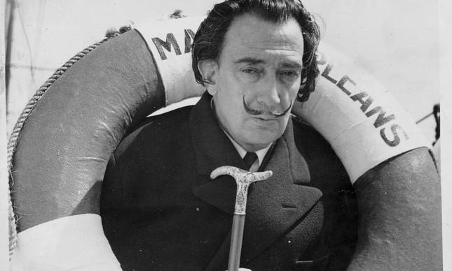 O pintor espanhol Salvador Dali