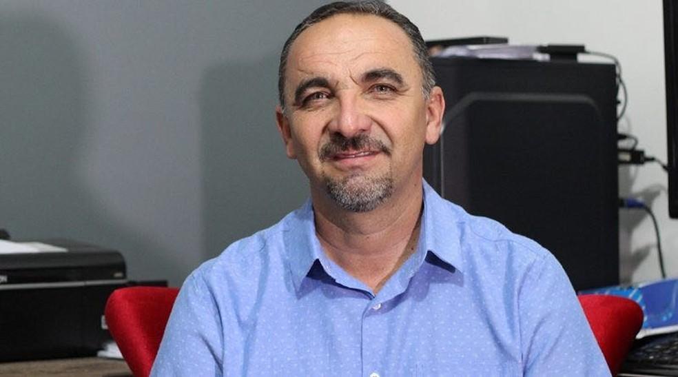 Prefeito alegou motivos de saúde para renunciar ao mandato (Foto: Assis Ramalho/Cortesia )