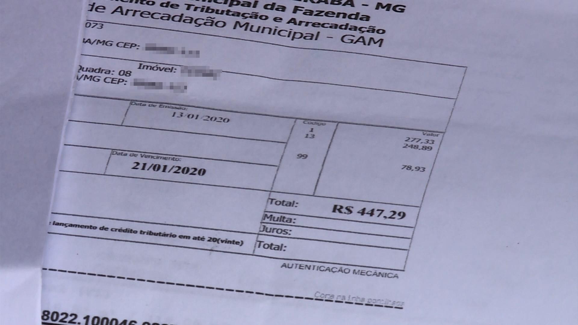 Moradores de Uberaba com renda abaixo de três salários mínimos podem prorrogar vencimentos de IPTU e ISSQN