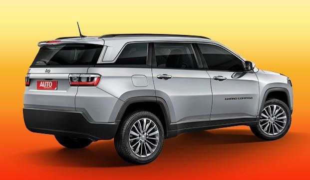 Segredos da Fiat - Ainda sem nome definido, um SUV de porte mais avantajado que o Compass também deve ser fabricado em Goiana (PE)  (Foto: Projeções: João Kleber Amaral)