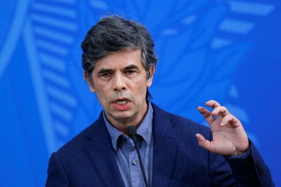 Novo ministro da Saúde, Nelson Teich — Foto: Adriano Machado/Reuters