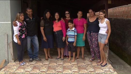 Irmãs se reencontram depois de 45 anos em Curitiba
