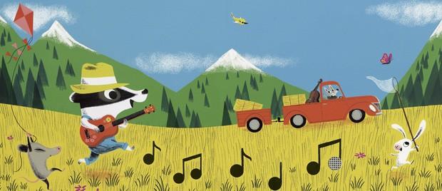 Parabéns Para Você!, texto e ilustrações de Nicola Slater, Brinque-Book, R$ 64. A partir de 0 ano. (Foto: Reprodução)