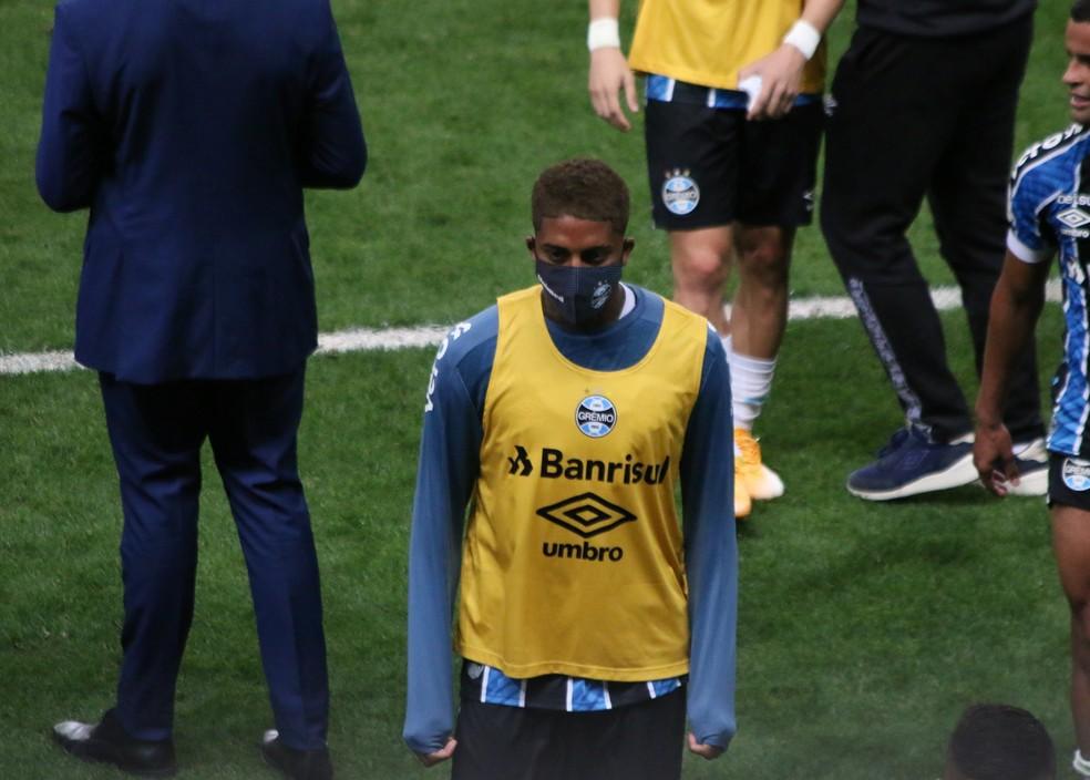 Jean Pyerre, do Grêmio — Foto: Eduardo Moura