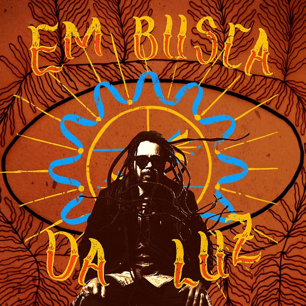Capa do single 'Em busca da luz', de Marcelo Falcão — Foto: Divulgação