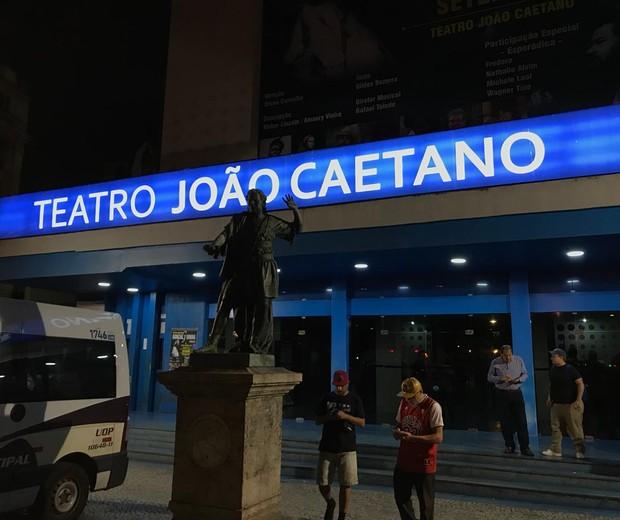 Velório de Mr. Catra no Rio de Janeiro (Foto: QUEM)