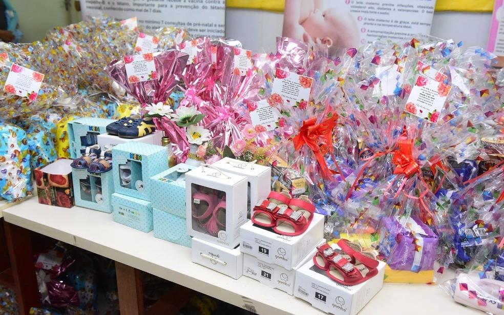 Voluntárias entregaram cerca de 150 kits na Urap Maria Barroso, nesta terça-feira (14) — Foto: Assis Lima/Arquivo pessoal