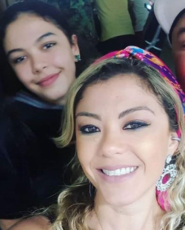 Luka e a filha, Luisa (Foto: Reprodução/Instagram)