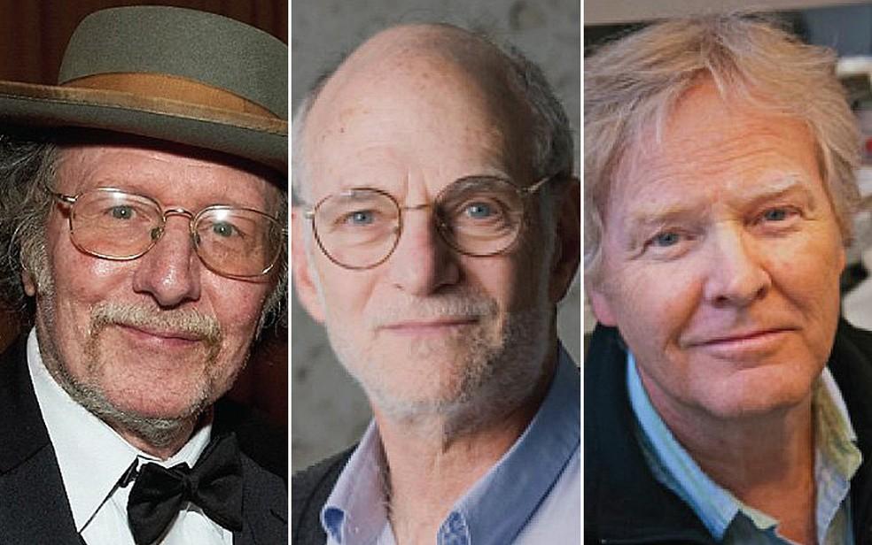Nobel de Medicina premia Jeffrey C. Hall, Michael Rosbash e Michael W. Young por descoberta com ritmo circadiano (Foto: Divulgação/Twitter Prêmio Nobel)