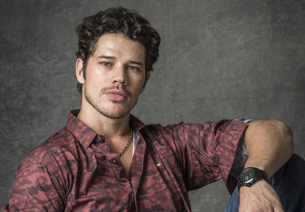 José Loreto é Eurico Júnior em 'O Sétimo Guardião' — Foto: Estevam Avellar