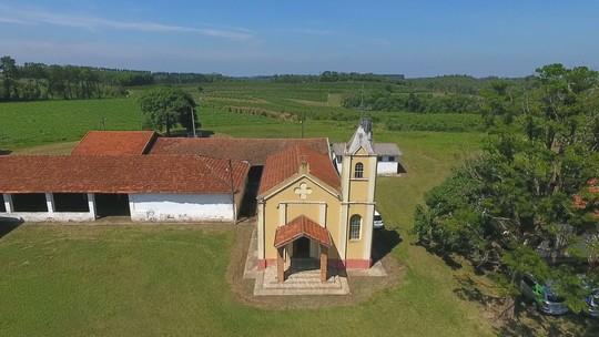 Marcão visita o Mosteiro do Bairro Paraíso, o cartão postal de Torrinha