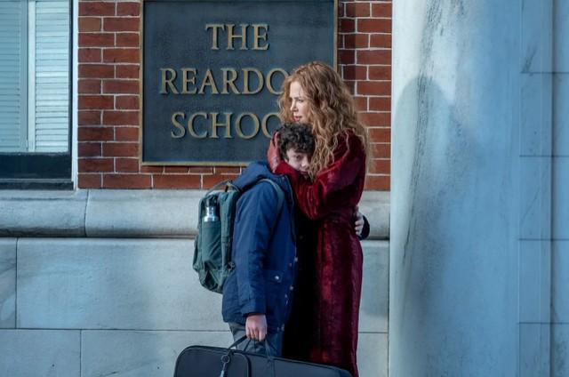 Nicole Kidman e Noah Jupe como Grace e Henry em 'The undoing', da HBO (Foto: Niko Tavernise/HBO)