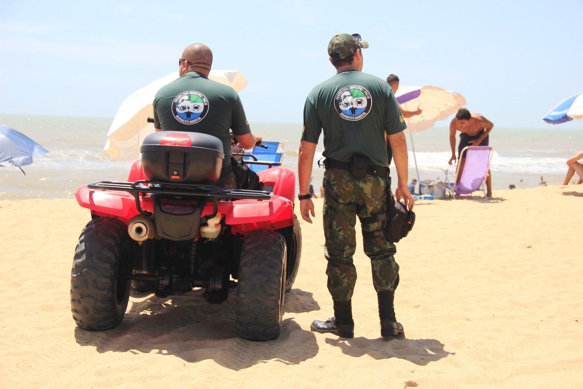 Prefeitura inicia operação Orla Segura na praia de Grussaí, em São João da Barra, no RJ