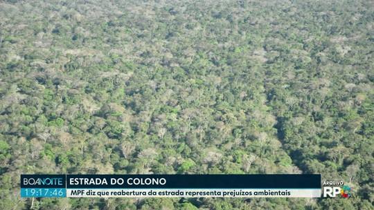 MPF diz que reabertura da Estrada do Colono desmataria 20 hectares do Parque Nacional do Iguaçu