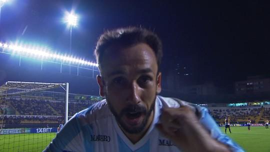 Thiago Ribeiro faz primeiro gol pelo Londrina e quebra jejum de quase 16 meses