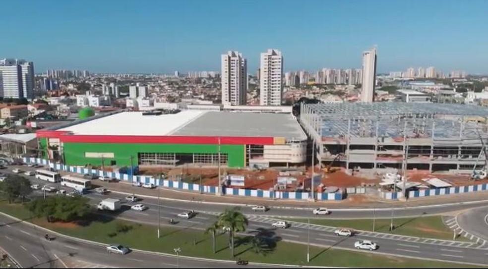 Empresa Ferreira Costa está sendo construída em Natal — Foto: Divulgação
