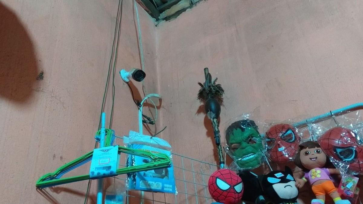 Bandidos armados rendem funcionário e roubam mercado em Boa Vista