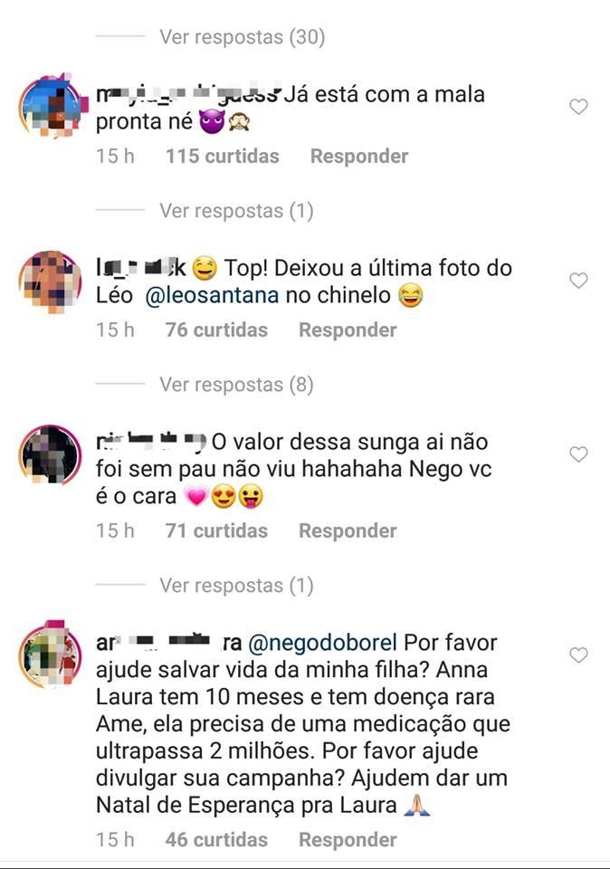 Nego do Borel é comparado a Leo Santana (Foto: Instagram)