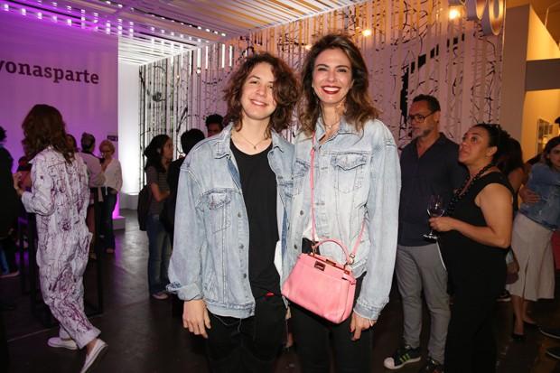 Luciana Gimenez e Lucas Jagger (Foto: Deividi Correa / AgNews)