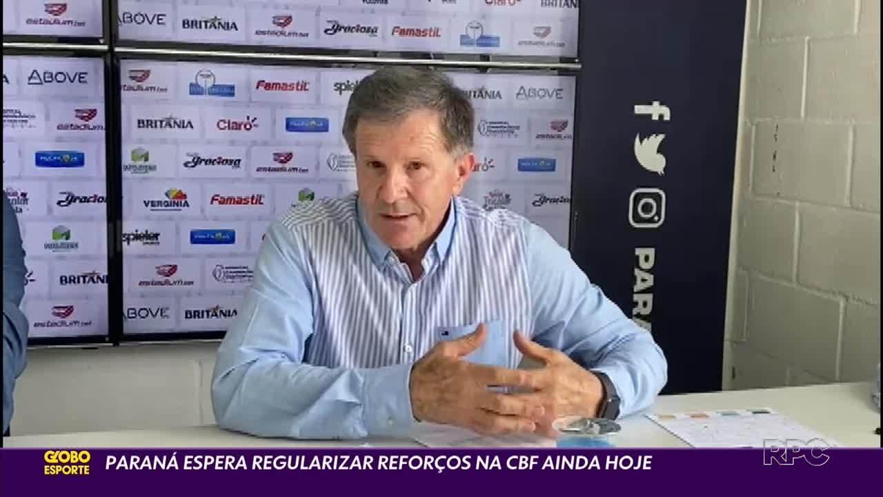 Paraná Clube não conseguiu registrar nenhum jogador em 2021