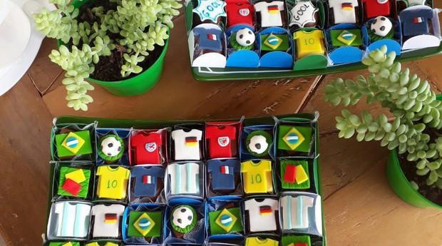 Docinhos copa (Foto: Divulgação)