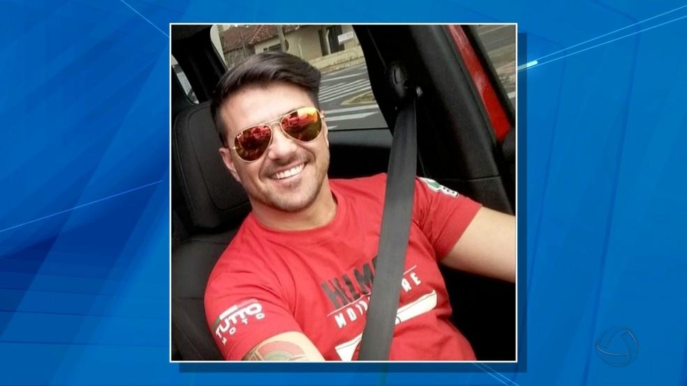 Breno Fernando Solon Borges, filho da presidente do TRE-MS Tania Garcia Borges (Foto: Reprodução/TV Morena)