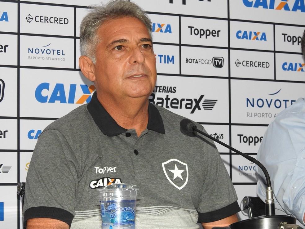 Marcos Paquetá, novo técnico do Botafogo (Foto: Fred Gomes)