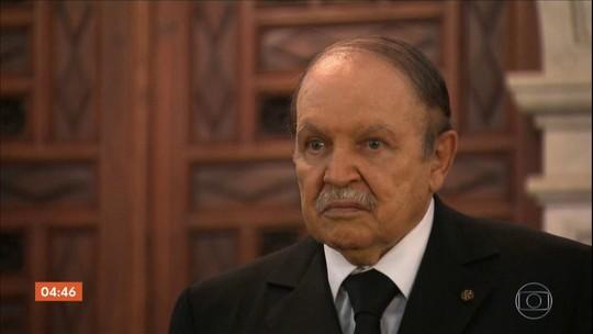 Presidente da Argélia desiste de concorrer ao quinto mandato