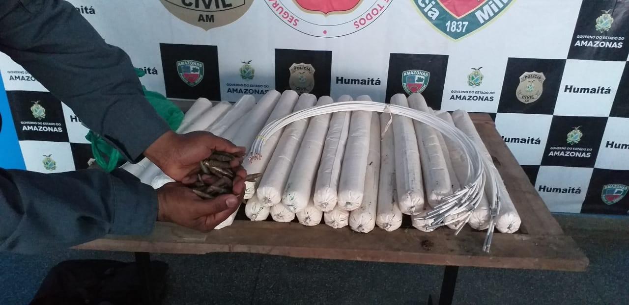 Polícia apreende dinamites usadas em roubos a bancos no interior do AM; suspeito foi preso  - Notícias - Plantão Diário