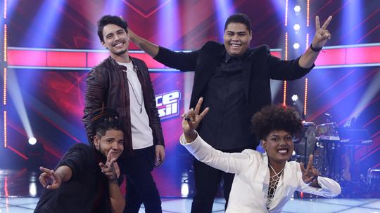 Relembre os melhores momentos dos finalistas do 'The Voice Brasil'